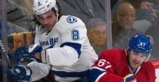 Montreal Canadiens Max Pacioretty slams Tampa Bay