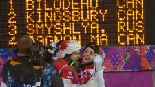 Alex Bilodeau gold, Mikael Kingsbury silver