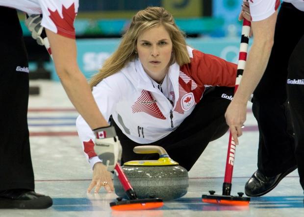 Jones Curling Olympics Curling Jennifer Jones