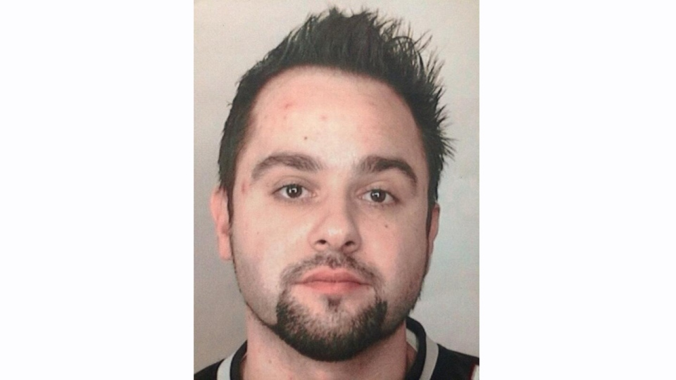 Stefan-Eduard Georgescu as seen in a photo taken by Longueuil police.