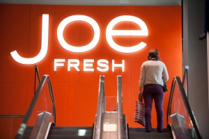 A Joe Fresh store at their flagship location on Carlton Street in Toronto on the day of the Loblaw Co. Ltd. annual general meeting in Toronto on Thursday May 2, 2013. (Aaron Vincent Elkaim / THE CANADIAN PRESS)