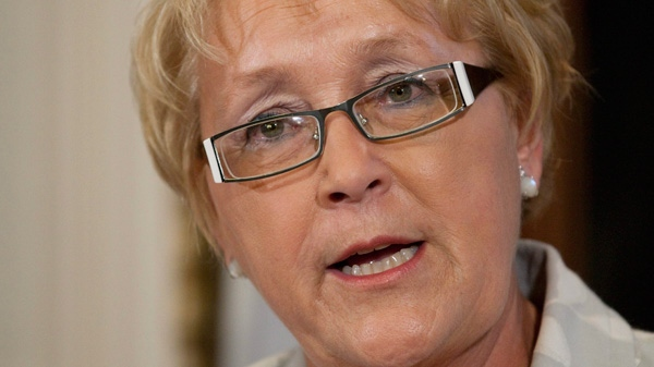 Pauline Marois has dropped the ball by weak leadership, according to Barry Wilson. (CP file photo)