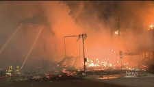 CTV Montreal: Possible arson attempt in Brossard