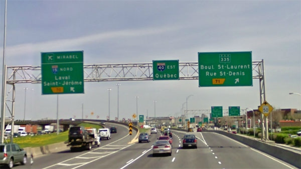 Motorists will not be able to use this exit for one year. (Photo courtesy Google Maps)