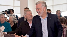 Quebec Liberal Party Leader Philippe Couillard is