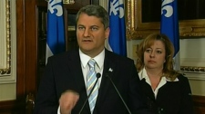 "ADQ leader Gerard Deltell says the premier missed a ""golden opportunity."" (Oct. 20, 2011)"