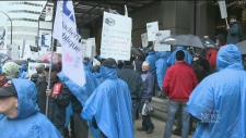 CTV Montreal: Demo at STM's HQ