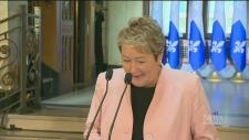 CTV Montreal: Marois says Goodbye