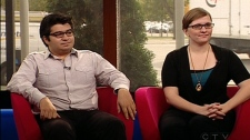 Delvin Alfaro and Ilona Dougherty discuss Occupy Montreal (October 27, 2011)