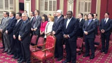 27 Parti Quebecois MNAs took their oaths of office
