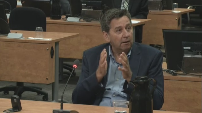 During testimony at the Charbonneau Commission, Claude Paquet, a former employee with at the Transport Ministry, said he has gone to lunch with representatives from consulting engineering firms the MTQ does business with, but less often than one of his subordinates did.
