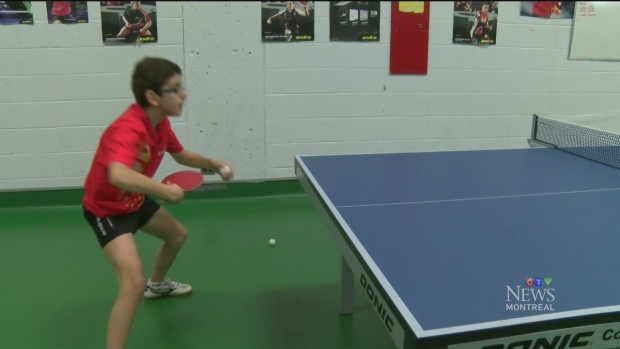 CTV Montreal: Boris Kalev: master of table tennis