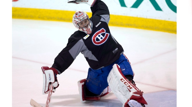 Montreal Canadiens goalie Carey Price (31) makes a