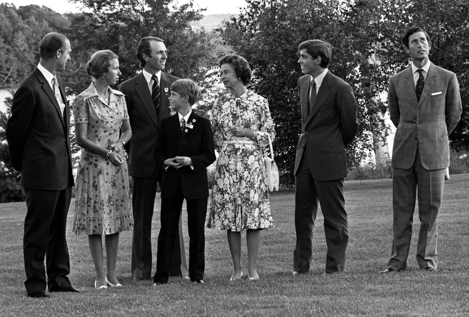 Prince Charles and Royal Family 1976