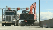 CTV Montreal: Bridge repairs to cause traffic