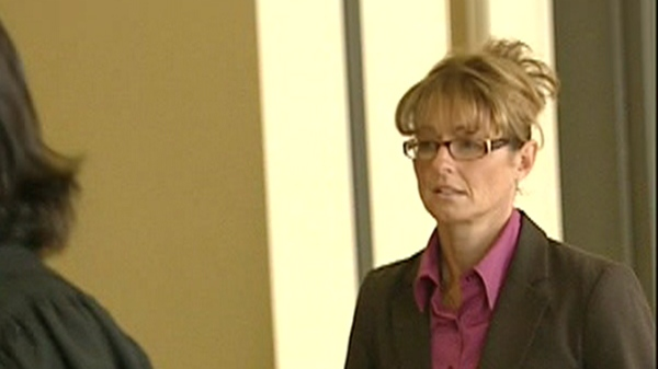 Tania Pontbriand is charged with sexual assault of a minor. (Nov. 28, 2011)