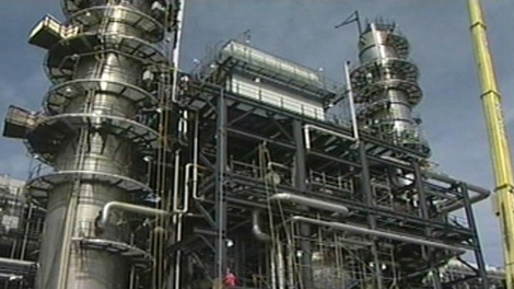 The Irving Refinery in Saint John.  The company announced it was laying off 78 people in its I-T and Finance Departments on Tuesday.