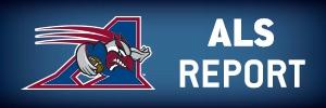 Als Report Alouettes 2014