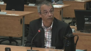 Bruno Lortie was the chief of staff for Nathalie Normandeau from 2003 until 2011.