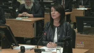 CTV Montreal: Couillard says protest unacceptable