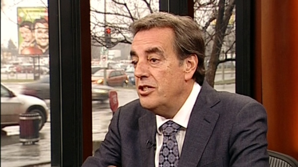 Normand Rinfret is the new head of the MUHC (Dec. 9, 2011)
