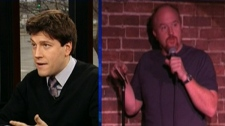 Elias Makos discusses comedian Louis CK, who put his latest comedy special on sale online for $5.
