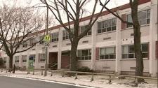 Bienville School in Saint-Michel.