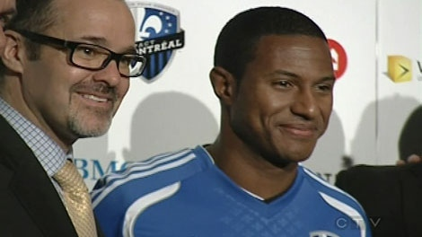 Patrice Bernier joins the Montreal Impact for the 2012 season.