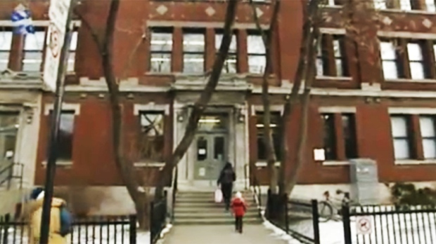 St-Gerard School in Villeray will be closed for up to two years due to mould.
