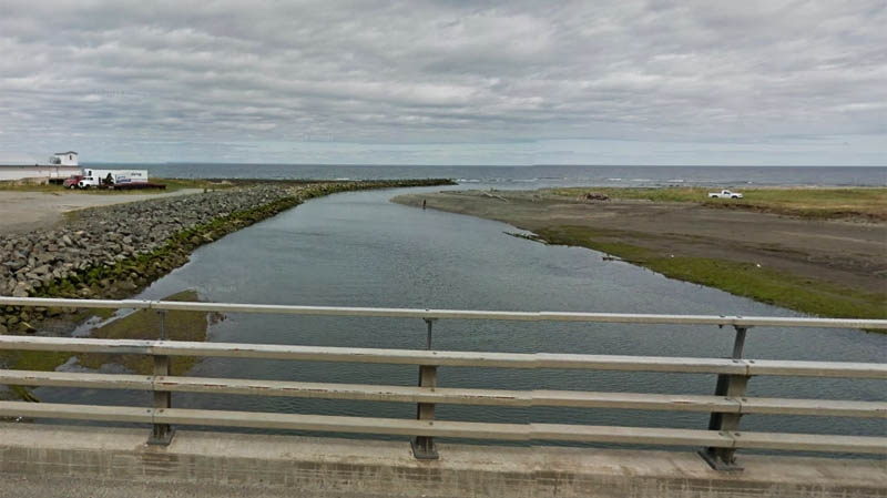 The missing 72-year-old was found deceased in the waters of Cap-Chat, the river which runs through the eponymously-named town in the Upper Gaspe area. (Image: Google Street View)