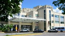 Maisonneuve-Rosemont Hospital is seen in Montreal