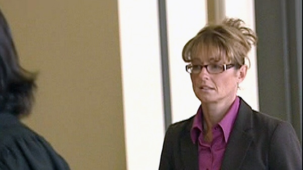 Tania Pontbriand, seen here on Nov. 28, 2011, has been sentenced to 20 months in jail for sexually assaulting a student.