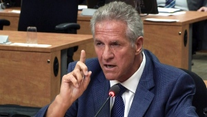 Tony Accurso, former construction magnate, testifies at the Charbonneau Commission on Tuesday, Sept. 2, 2014.