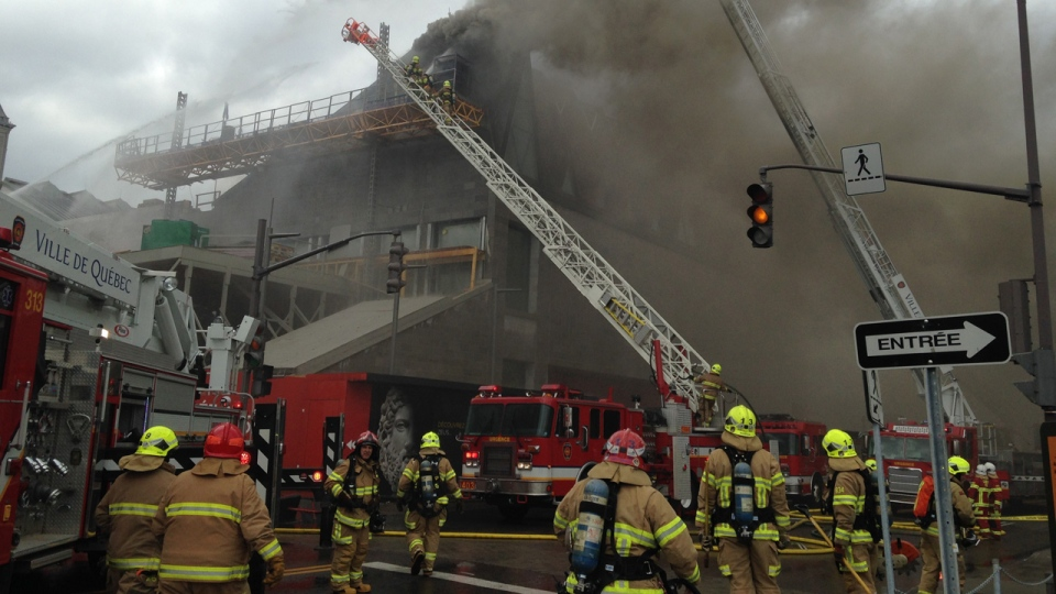 Valuables escape damage in quebec city museum fire ctv for Quebec city museum of civilization