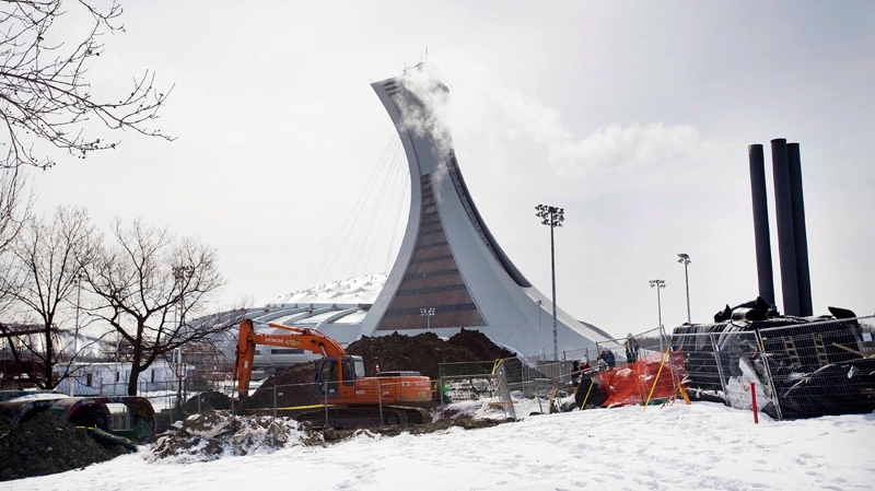 A pull-up retractable roof on Montreal's Olympic Stadium might be a possibility after all.