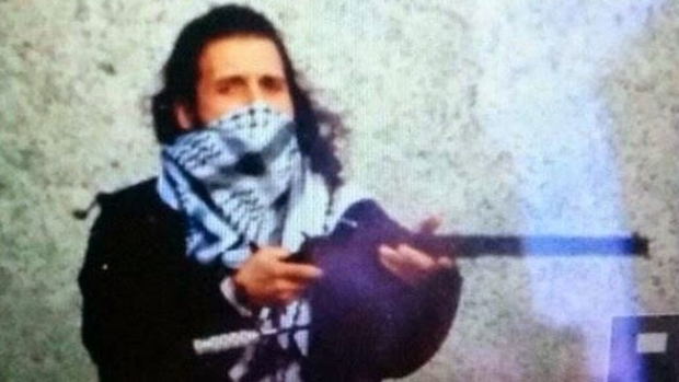 CTV News has confirmed that the suspect in Wednesday's attack is Michael Zehaf-Bibeau. This is a reported photo of the suspect from an ISIS Twitter account which has been suspended.