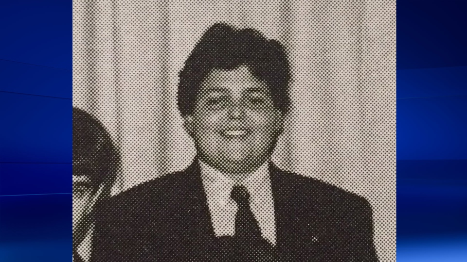 Michael Zehaf Bibeau, as seen in his high school yearbook