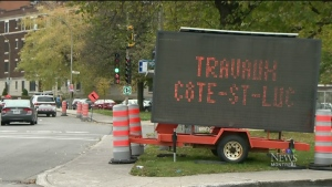 CTV Montreal: Traffic woes continue in NDG