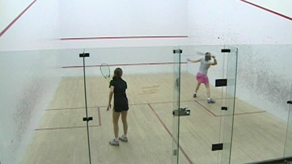 The Women's Montreal Squash League was founded 15 years ago. (March 15, 2012)