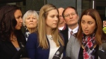 Families of RCMP officers react to verdict