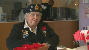 CTV Montreal: Poppy vendor saddened by theft