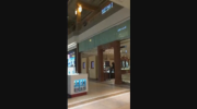 A bystander took video showing four people robbing a jewelry store at Fairview Pointe Claire, a mall on the island of Montreal.