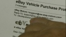 Claude Painchaud realized an email address that looked like it was for eBay was actually for a scam artist (March 26, 2012)
