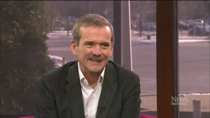 CTV Montreal: Chris Hadfield, You Are Here
