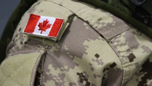 A Canadian soldier who served in Afghanistan is facing charges in the United Kingdom. (The Canadian Press/Lars Hagberg)