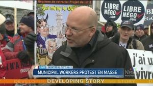 CTV Montreal: Marc Ranger explains union actions