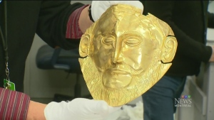CTV Montreal:  Museum opens crates