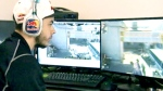 Matt Haag, a 22-year-old professional video gamer, is shown here playing Call of Duty.