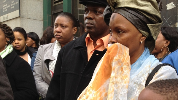 Friends of Kankou Keita and her family don't want her to leave Canada (April 10, 2012, CTV Montreal/JL Boulch)