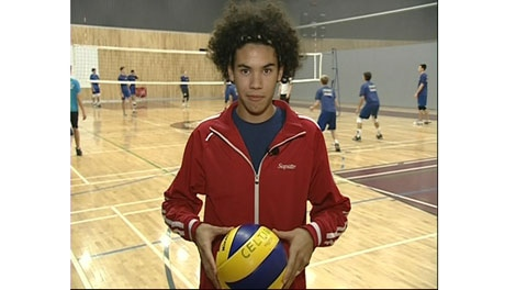 Gabriel Chancy, competitive volleyball player.